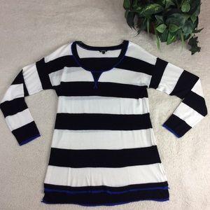 Torrid  Long Sleeve Striped Top Size 1
